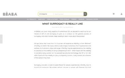Gift of Life Surrogacy on Beaba